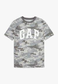 GAP - BOY ARCH - Triko spotiskem - grey - 0