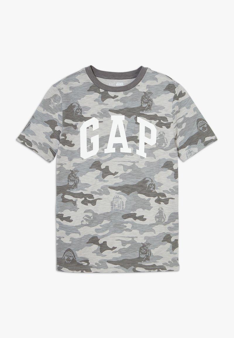 GAP - BOY ARCH - Triko spotiskem - grey