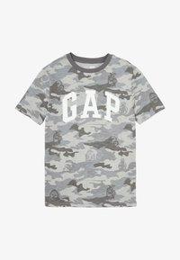 GAP - BOY ARCH - Triko spotiskem - grey - 2