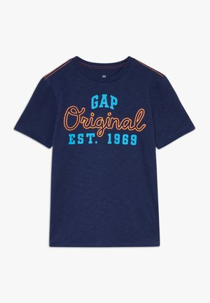 BOY ORIGINAL  - Print T-shirt - military blue