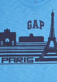 GAP - BOY PARIS  - Print T-shirt - blithe blue - 3