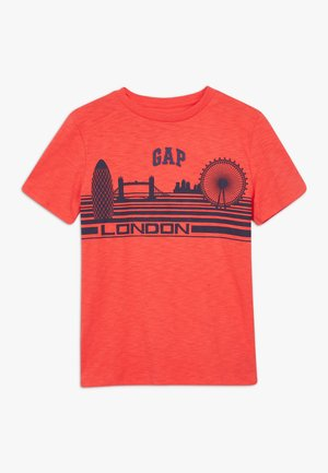 BOY LONDON  - T-shirt con stampa - hot coral