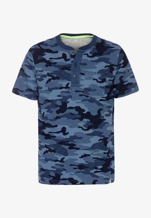 BOY HENLEY - T-shirt print - blue