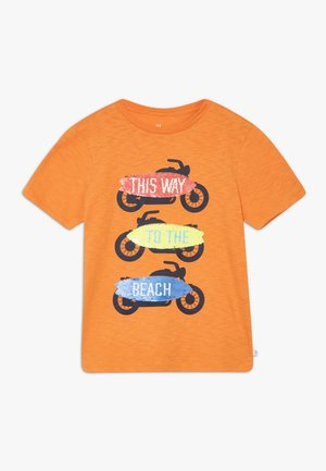 BOY FLIPPY TEE - Print T-shirt - scorch