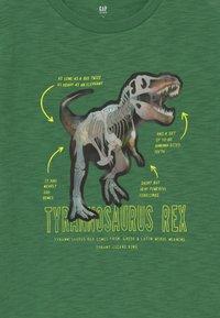 GAP - HOLOGRAPHIC DINOSAUR T-SHIRT - T-shirt print - summer spruce - 3