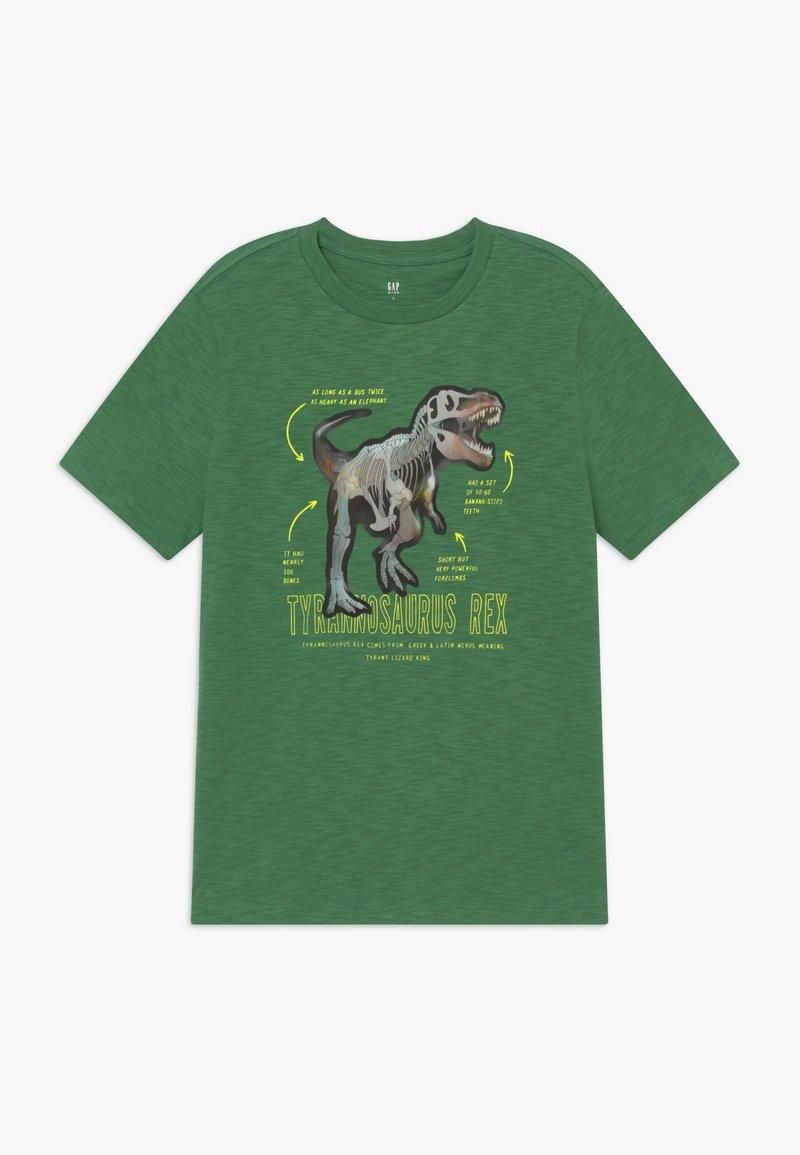 GAP - HOLOGRAPHIC DINOSAUR T-SHIRT - T-shirt print - summer spruce