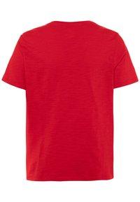 GAP - BOY LOGOMANIA - T-shirt imprimé - pure red - 1