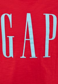 GAP - BOY LOGOMANIA - Print T-shirt - pure red