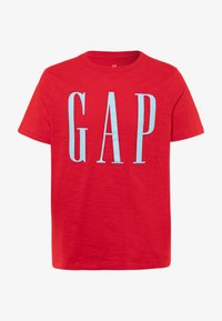 GAP - BOY LOGOMANIA - Print T-shirt - pure red - 0