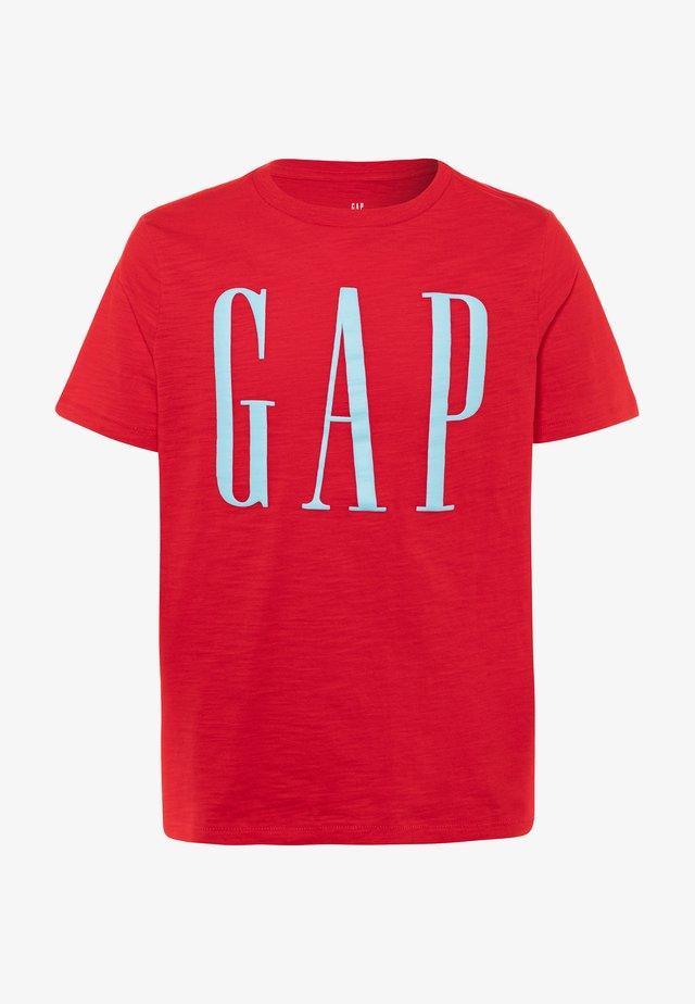 BOY LOGOMANIA - T-shirt med print - pure red