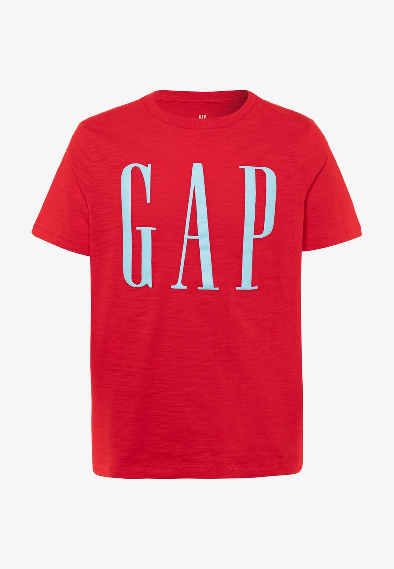GAP - BOY LOGOMANIA - T-shirt imprimé - pure red