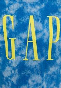 GAP - BOY LOGOMANIA - Triko spotiskem - blue - 2