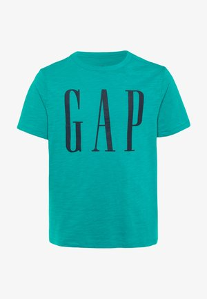 BOY LOGOMANIA - T-shirt con stampa - green mirage