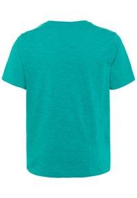 GAP - BOY LOGOMANIA - Print T-shirt - green mirage - 1