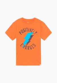 GAP - BOY - Print T-shirt - orange jubilee - 0