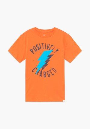 BOY - Triko spotiskem - orange jubilee