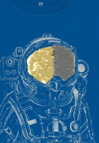 GAP - BOY - Triko spotiskem - blue burst - 3