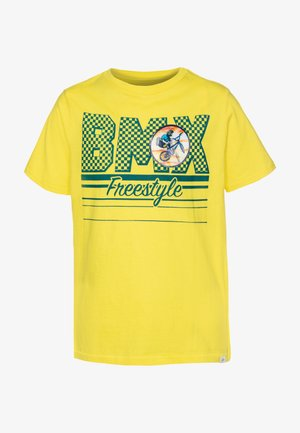BOY  - Camiseta estampada - yellow