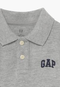 GAP - TODDLER BOY SOLID LOGO  - Polo shirt - light grey heather - 3