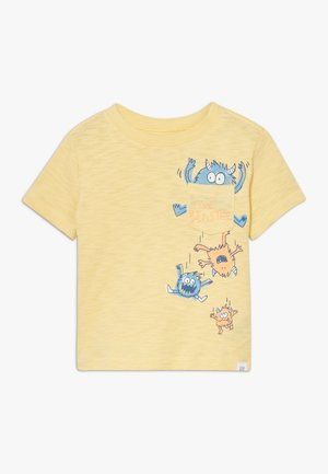 TODDLER BOY MARCH BETTER GRAPHICS - Camiseta estampada - havana yellow