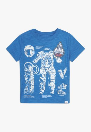 TODDLER BOY MARCH BETTER GRAPHICS - T-shirt print - blue burst