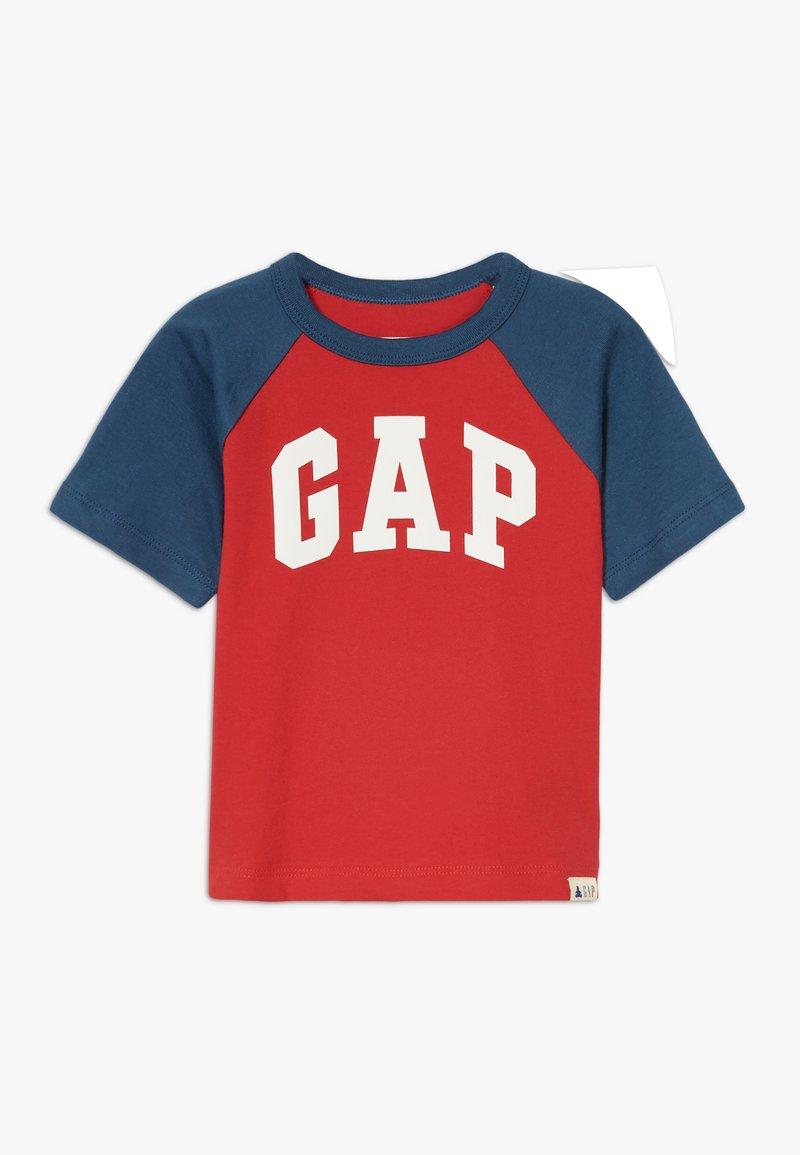 GAP - TODDLER BOY LOGO  - Print T-shirt - pure red