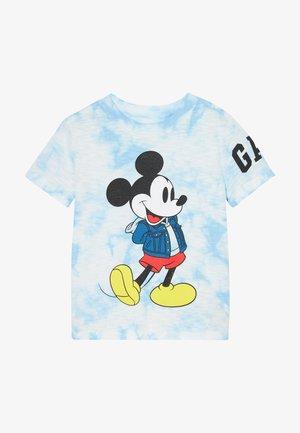 TODDLER BOY MICKEY GRAPHICS - T-shirt imprimé - buxton blue