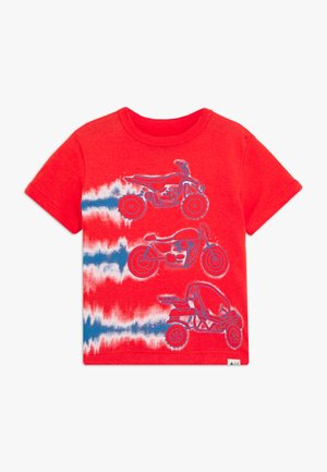 TODDLER BOY - T-shirt print - hot coral