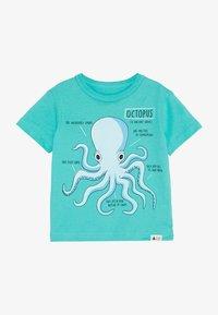 GAP - TODDLER BOY - Print T-shirt - green cascade - 2