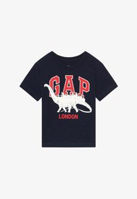 GAP - TODDLER BOY CITY TEE - Print T-shirt - navy - 2