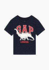 GAP - TODDLER BOY CITY TEE - Print T-shirt - navy - 0