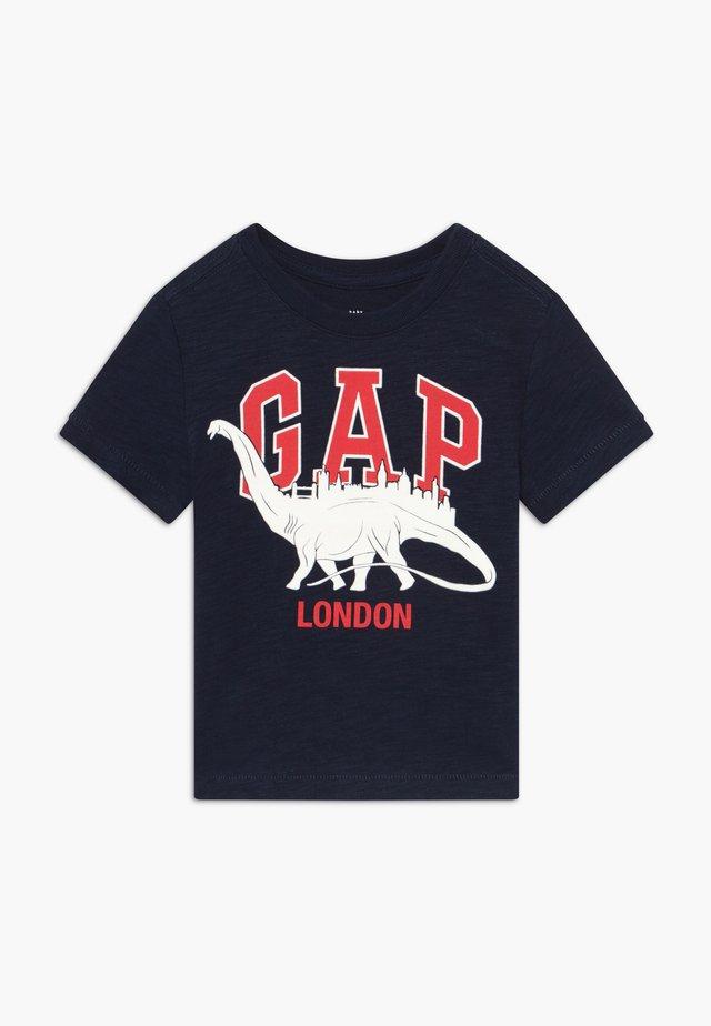 TODDLER BOY CITY TEE - T-shirt med print - navy