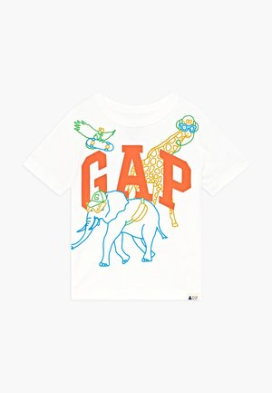 TODDLER BOY NOVELTY LOGO - Triko s potiskem - new off white