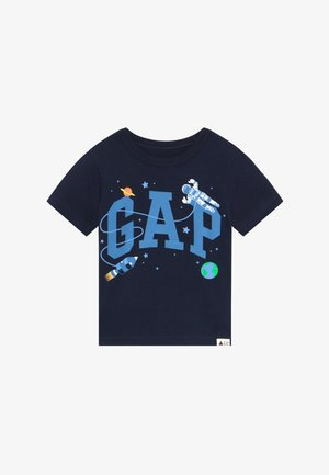 TODDLER BOY NOVELTY LOGO - T-shirt z nadrukiem - blue galaxy