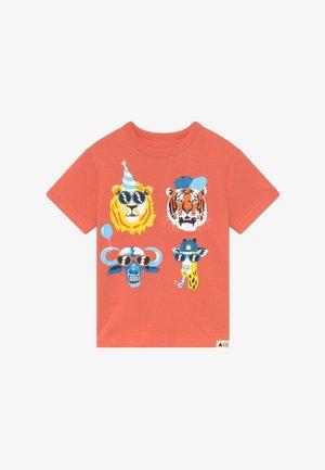 TODDLER BOY - T-shirt med print - miami coral