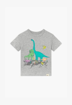 TODDLER BOY - Print T-shirt - light heather grey