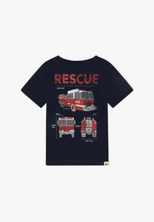 TODDLER BOY - T-shirt con stampa - tapestry navy