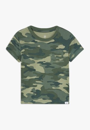 TODDLER BOY PRINT TEE - Camiseta estampada - loden