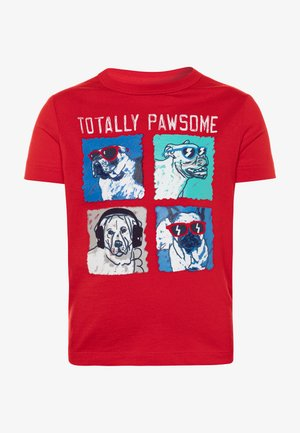 TODDLER BOY - T-shirt imprimé - pure red