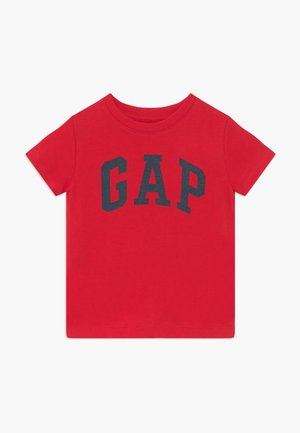 TODDLER BOY LOGO - T-shirt con stampa - pure red