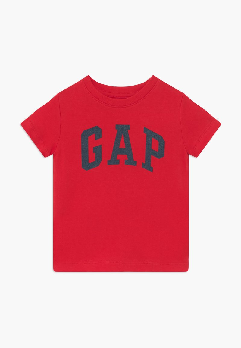GAP - TODDLER BOY LOGO - Triko s potiskem - pure red