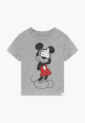 TODDLER BOY MICKEY  3D TEE - Camiseta estampada - light heather grey