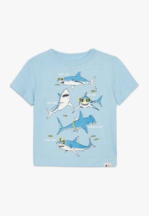 TODDLER BOY - T-shirt con stampa - blue focus