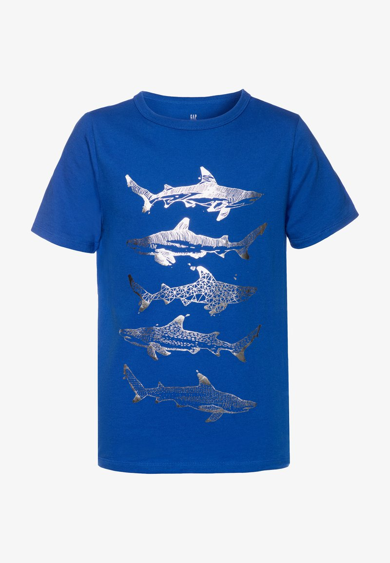 GAP - BOY - T-shirt print - admiral blue