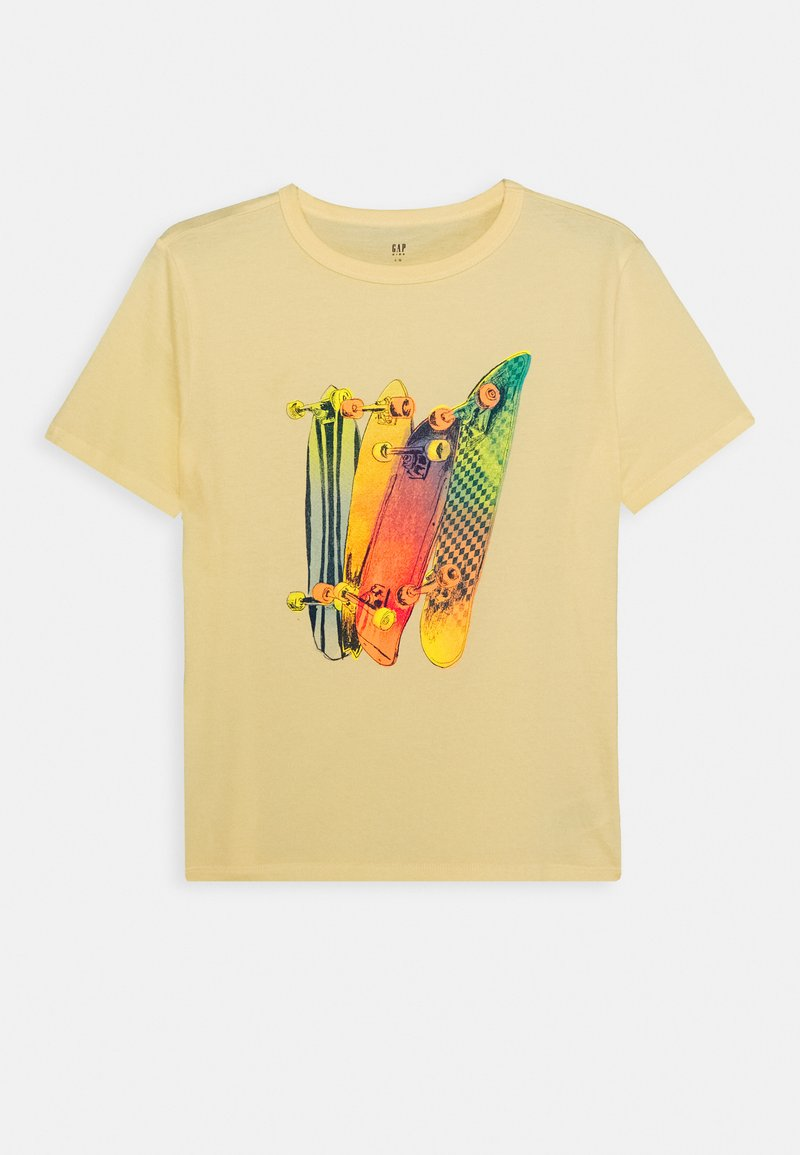 GAP - BOY - Print T-shirt - sunshine