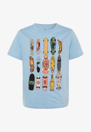 BOY  - T-shirt print - blue focus