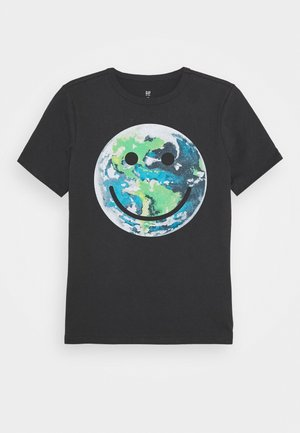 BOYS - Print T-shirt - clean coal