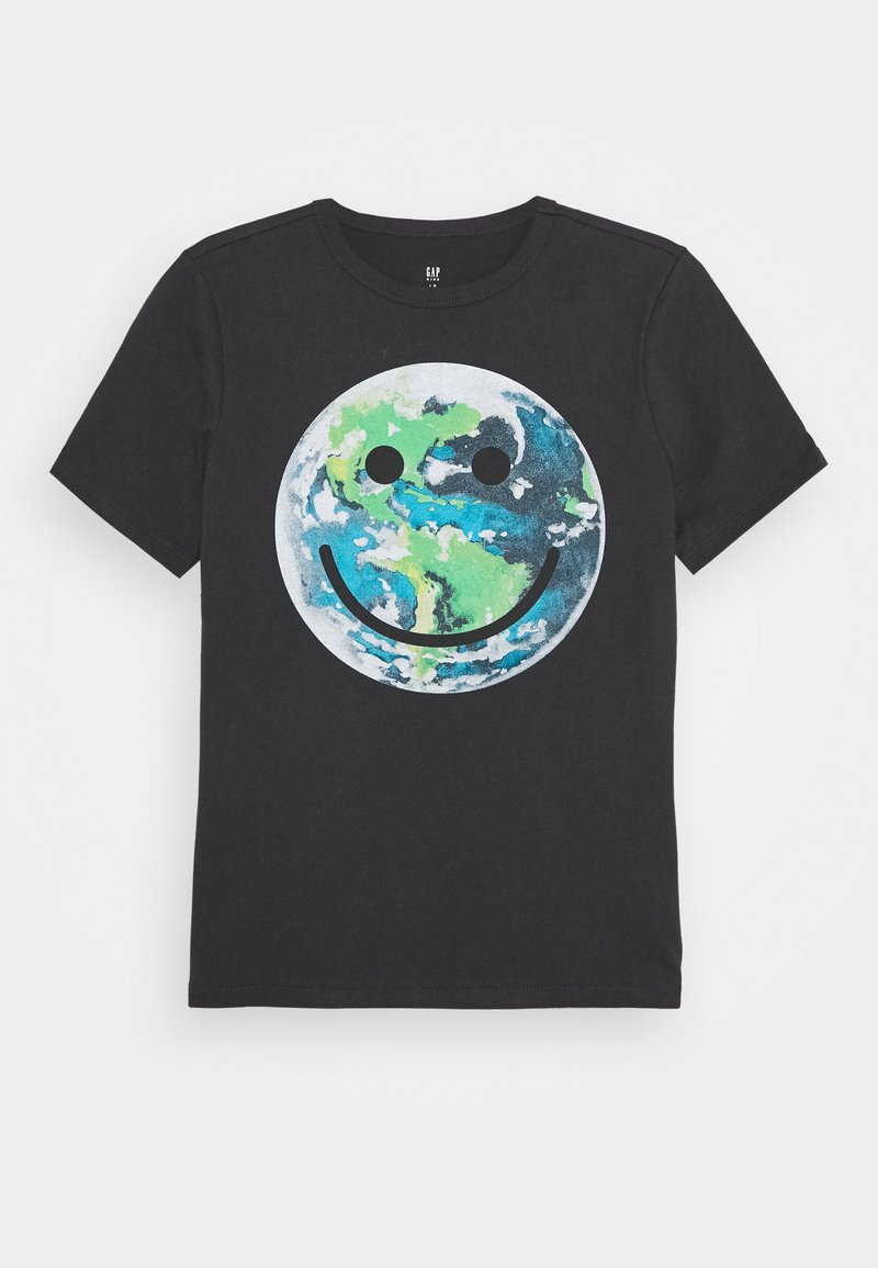 GAP - BOYS - Print T-shirt - clean coal