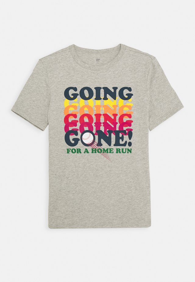 BOYS - T-shirt con stampa - light heather grey