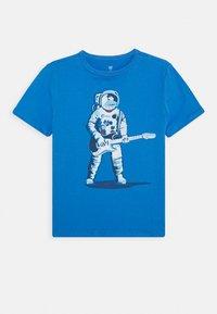 GAP - BOYS - T-shirt print - blue/red - 0